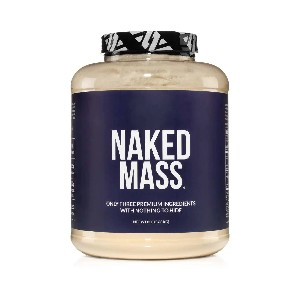 Naked Nutrition Weight Gainer Protein Supplement - Best Mass Gainer Protein: Build and Sustain Muscle Mass
