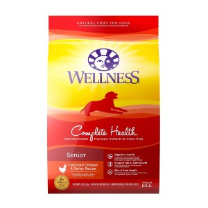 Wellness Complete Health Natural Dry Senior Dog Food - Best Dog Foods for Joint Health: Whole Body Health