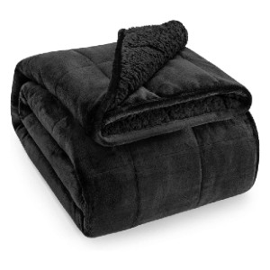 Wemore  Sherpa Fleece Weighted Blanket - Best Weighted Blanket Amazon: Ideal Double Side