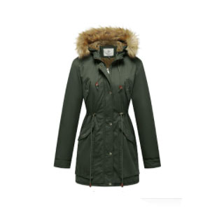 WenVen Women's Windproof Sherpa - Best Rain Jackets for Alaska: It's Perfect for Spring, Falls and Winter