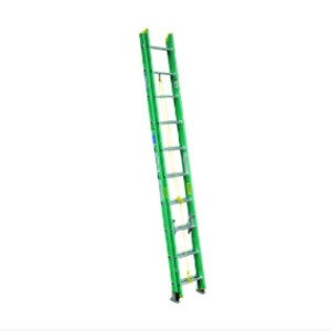 WERNER D5920-2 - Best Extension Ladders for Home Use: Gravity Spring Locks Operate Smoothly