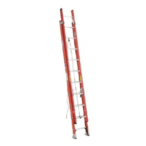 WERNER D6200-2 Series - Best Extension Ladders for Home Use: Electrically Non-Conductive Side Rails