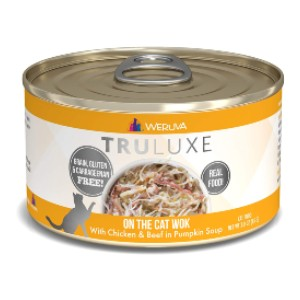 Weruva TruLuxe Grain-Free Natural Canned Wet Cat Food - Best Cat Food for Indoor Cats Vet Recommended: Luxurious Limited-Ingredients Recipes