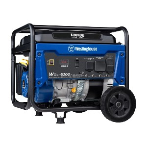 Westinghouse WGen5300v  - Best Generators for Power Outages: Ideal as a Portable Power Solution