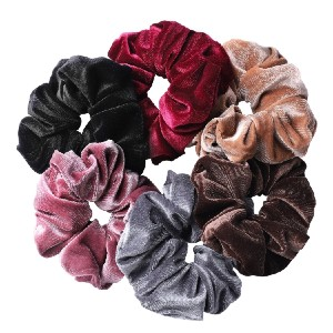 Whaline  Hair Scrunchies - Best Scrunchies for Sleeping: Soft and Strong