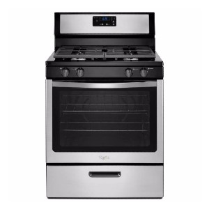 Whirlpool 5.1 cu. ft. Gas Range - Best Gas Ranges for Home: Your wallet will thank you