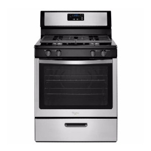 Whirlpool 5.1 cu. ft. Gas Range - Best Gas Ranges for the Money: Convenient features