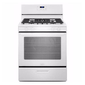 Whirlpool 5.1 cu. ft. Gas Range - Best Gas Ranges for Baking: Best for budget