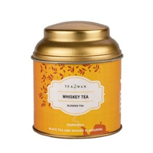 TeaSwan Whiskey Black Tea - Best Tea to Drink at Night: Ideal for Summer Picnics and Sultry Evenings