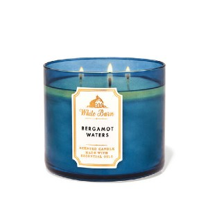 White Barn BERGAMOT WATERS - Best Scented Candles for Bedroom: Refreshing Scent