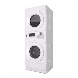 Whirlpool White Commercial Laundry Center - Best Commercial Washers: Excellent microprocessor controls