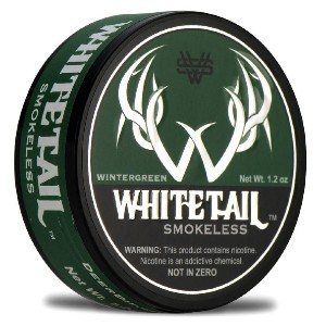 Whitetail Smokeless Wintergreen (Leaf) Tobacco - Best Smokeless Tobacco: Handcrafted in Small Batches