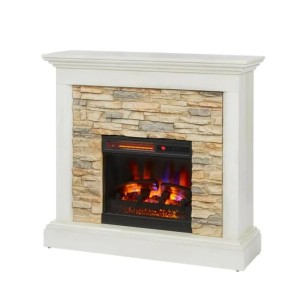 Home Decorators Collection Whittington 40 in. Freestanding Electric Fireplace - Best Electric Fireplace with Mantel: Best bang for your bucks
