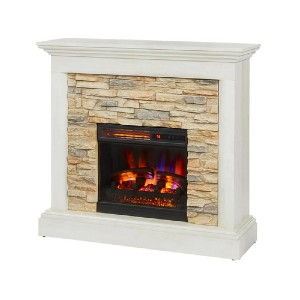 Home Decorators Collection Whittington 40 in. Freestanding Electric Fireplace - Best Electric Fireplace Freestanding: Elevate any room effortlessly