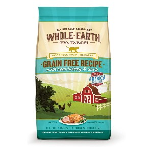 Whole Earth Farms Grain Free Dry Cat Food - Best Cat Food for Ferret: All-Natural Ingredients