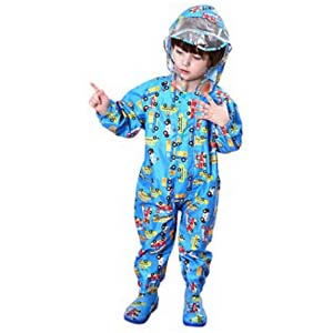 Whteian Baby Rainsuit Infant Toddlers - Best Raincoats for Toddlers: Easy to clean