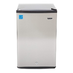 Whynter CUF-210SS 2.1 cu. ft. Upright Lock Compact Freezer - Best Freezer for Breast Milk: Perfectly sized