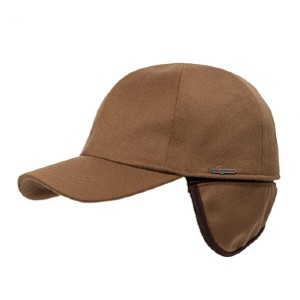Wigens Edgar Loro Piana Storm System Vicuna - Best Baseball Caps for Men: Cap with Ear Cover