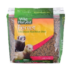 Wild Harvest Advanced Nutrition Diet For Ferrets - Best Ferret Food for Weight Gain: High Protein Composition