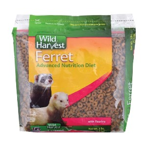 Wild Harvest Advanced Nutrition Diet For Ferrets - Best Ferret Dry Food: Essential Fat and Vitamins Ingredients