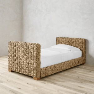 Williams Sonoma Home Sorrento Daybed - Best Daybeds for Small Spaces: Simple Hand-Woven Daybed