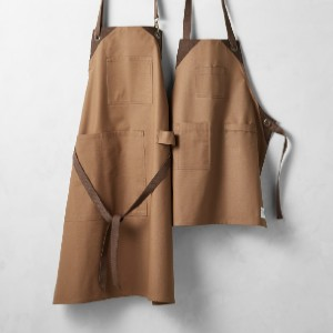 Williams Sonoma Grilling Adult & Kid Aprons - Best Aprons for Men: Apron with Acrylic Coating