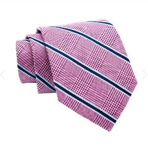 The Dark Knot Wilton Stripes Silk Tie - Best Ties for Blue Suit:  Compliment your best outfits