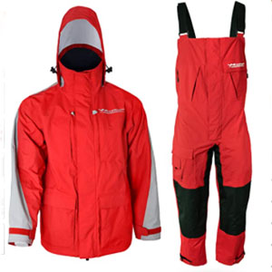WindRider Store Pro Foul Weather Gear - Best Raincoat for Boating: Raincoat with 2 Layers Fabric