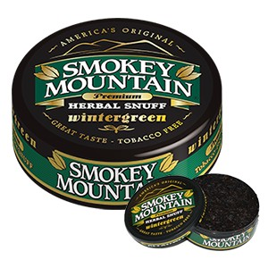 Smokey Mountain Wintergreen Loose Snuff - Best Smokeless Tobacco: Very Clean, Frosty, and Sweet Tasting