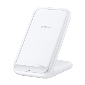 Samsung Wireless Charger Stand 15W, White - Best Wireless Charger Stand: Charge a Galaxy or Apple iPhone