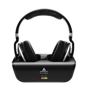 Artiste ADH300 - Best Wireless Headphones for Movies: Up to 100ft range
