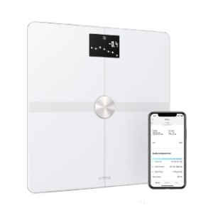 Withings Body+ Body Composition Smart Wi-Fi Scale - Best Weighing Scale for Home Use: It analyzes everything