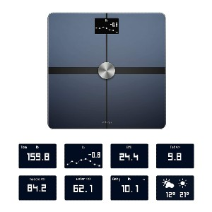 Withings Body+ Smart Body Composition Wi-Fi Digital Scale - Best Weight Scale for Body Fat: Provides accurate data