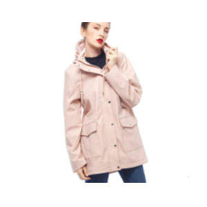 Rokka & Rolla Women's Waterproof Hooded - Best Rain Jackets For Europe: Nice Lining and For Complete Dry