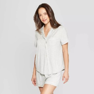 Stars Above™ Women's Beautifully Soft Top and Shorts Pajama Set - Best Sleepwear Shorts: Inexpensive luxury