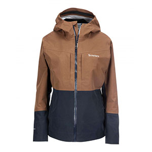 SIMMS G3 Guide Wading Fishing Jacket - Best Rain Jackets for Scotland: Flattering and Feminine Look