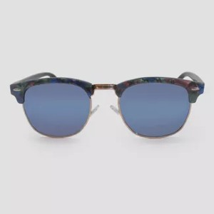 Wild Fable Retro Plastic Metal Combo Silhouette - Best Sunglasses UV Protection: Nose Pads for Comfortable Wear