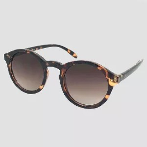 A New Day Round Sunglasses - Best Sunglasses UV Protection: Brown Lenses