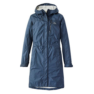 L.L.Bean Women's Trail Model Rain Coat - Best Raincoats for Petites: Three-point Adjustable Hood.
