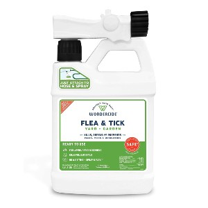 Wondercide Ready to Use Flea, Tick, and Mosquito Yard Spray with Natural Essential Oils - Best Mosquito Repellent Outdoor: Non-Toxic Repellent Spray