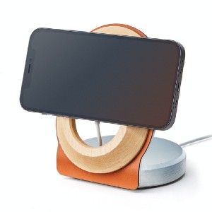 Grovemade Wood MagSafe Stand - Best Phone Stand for Video Recording: Easy On and Easy Off