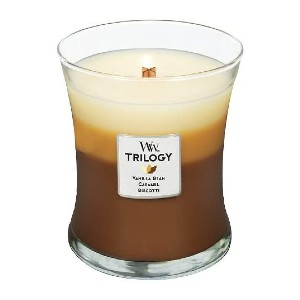 WoodWick Trilogy Cafe Sweets - Best Coffee Scented Candles: Three Layers Candle