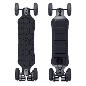 Wowgo AT2 Electric Skateboard - Best Electric Skateboard: Two Kinds of Wheel