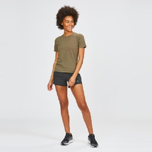 Janji W's Runpaca SS in Stingray - Best Activewear for Women: Thermo-regulating and odor resistant