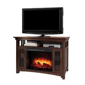 Muskoka Wyatt 48 in. Freestanding Electric Fireplace  - Best Electric Fireplace for Basement: Sturdy and gorgeous
