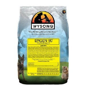 Wysong Epigen 90 Starch-Free Formula Grain-Free Dry Dog & Cat Food - Best Food for Cat to Gain Weight: Natural Flavor Food