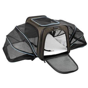 X-ZONE PET Airline Approved Pet Carriers - Best Pet Carrier for Small Dogs: Stylish and expandable