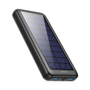 Xooparc Solar Charger Power Bank 26800mAh - Best Power Banks with Fast Charging: Sturdy Power Bank