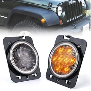 Xprite LED Amber Yellow Front Fender Side Marker  - Best LED Side Marker Lights: Designed for your jeep