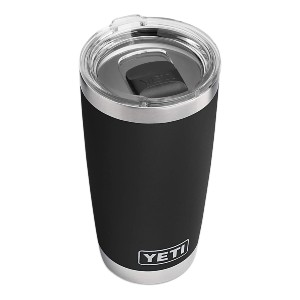 YETI Rambler Vacuum Insulated with MagSlider Lid - Best Tumbler for Iced Coffee: MagSlider lid tumbler